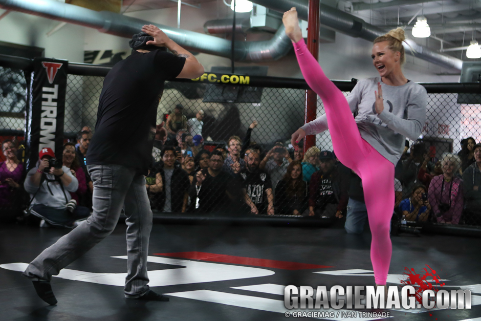 Holly Holm is the new UFC Bantamweight champion