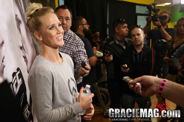 Contrary to Ronda, Holly Holm would have no problem fighting Cris Cyborg