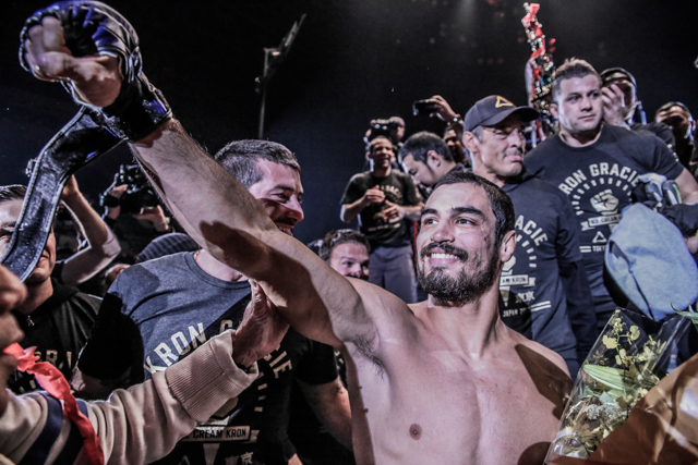 Rizin FF signs Kron Gracie and schedules fight against Asen Yamamoto