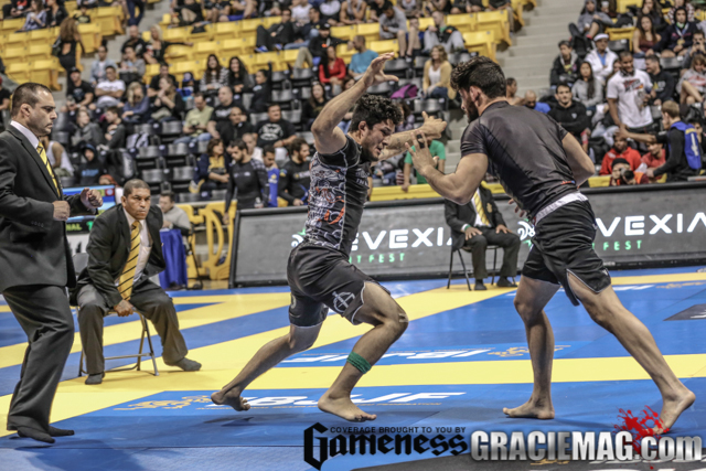 Lucas Barbosa at the 2015 Worlds NoGi