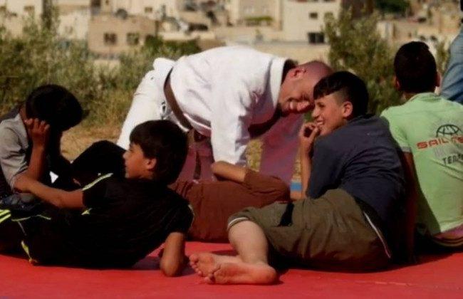 Israel, Palestina e o Jiu-Jitsu numa história cinematográfica