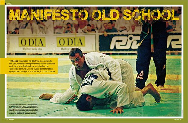 Treino duro sem desculpas: o Jiu-Jitsu old school e a doutrina casca-grossa