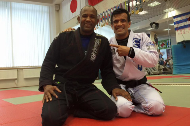 Tererê and Cobrinha train together in Russia 8 years after their last roll