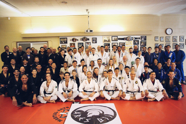 First group photo of Ares BJJ