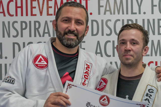 GB Cool Springs graduates first black belt who started training at the school as a white belt