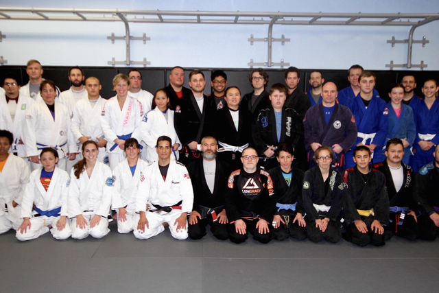 Seamless Progression Academy hosts black belt guard fighting clinic