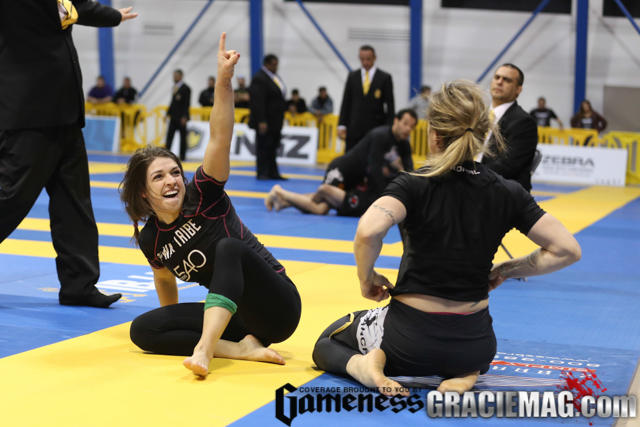 Mackenzie Dern, 2015 black belt open class no-gi world champion