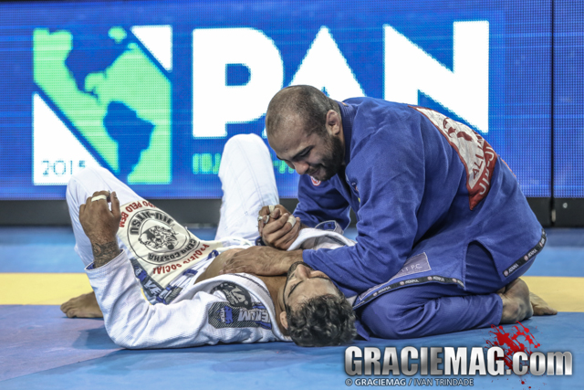 Bernardo Faria and Leandro Lo at the 2015 Pan