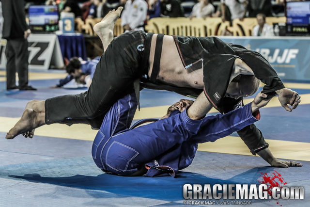 Irvine Open standout Gabriel Arges teaches a spider guard sweep that leads to an armbar