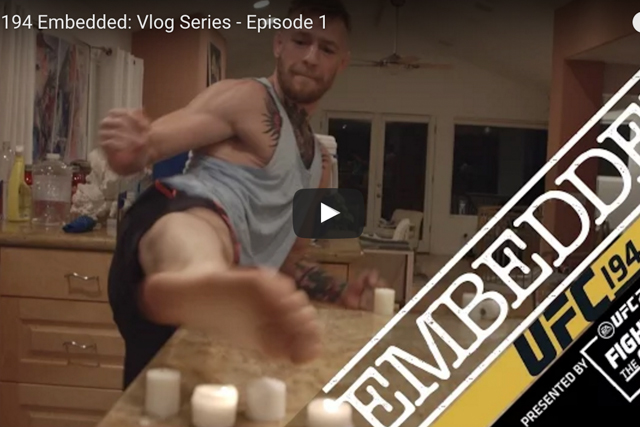UFC 194 – Aldo vs. McGregor: watch episode 1 of the embedded series