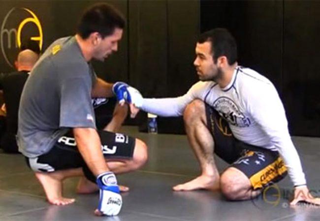 Do baú: o treino sem kimono entre Demian Maia e Marcelo Garcia, campeões do ADCC