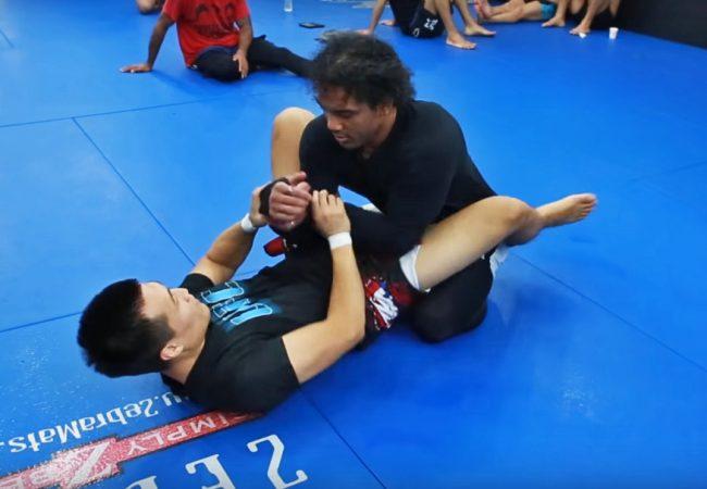 """Vídeo: O treininho de Ben Henderson e """"Zumbi Coreano"""" no Jiu-Jitsu sem kimono"""