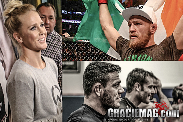 Holm, McGregor or RDA, who was the best MMA fighter of 2015?