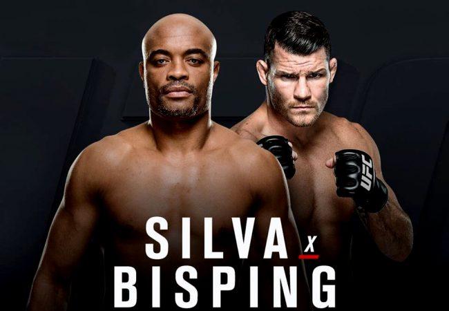 UFC confirma retorno de Anderson Silva contra Michael Bisping, em fevereiro
