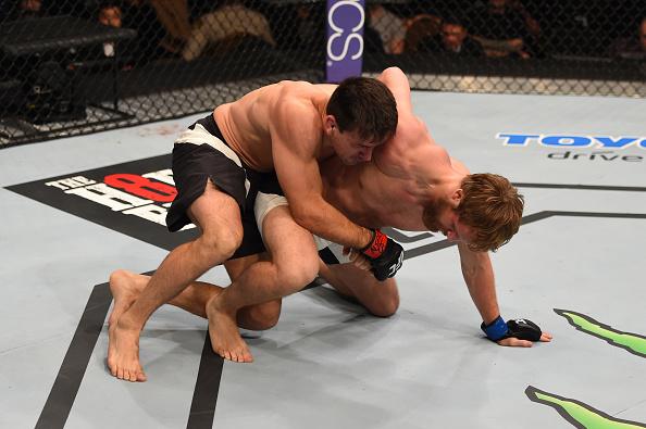 Demian teve amplo domínio no combate. Foto: Josh Hedges/Zuffa LLC via Getty Images