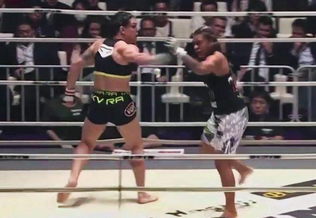 """Vídeo: Gabi Garcia nocauteia Lei'D Tapa em sua estreia no """"novo Pride"""""""