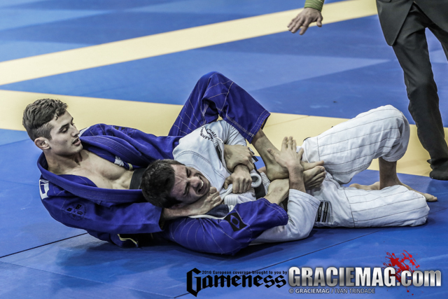 Caio Terra teaches a way to take the back with and without the gi