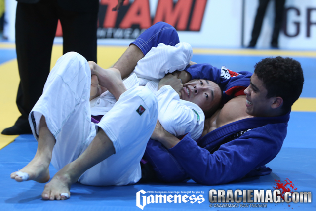 2016 European: day 2 crowns blue belt and purple belt champions