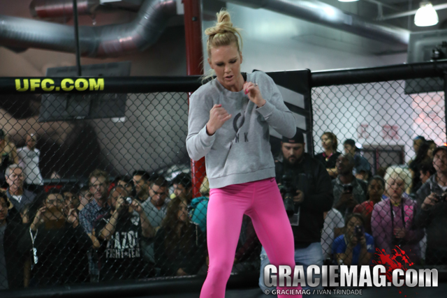 Holly Holm. Photo: Ivan Trindade/GRACIEMAG