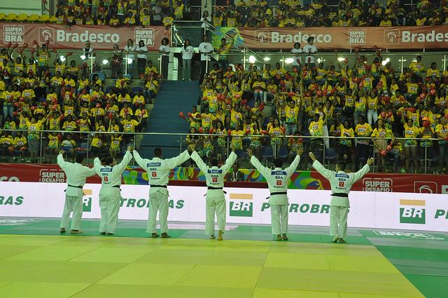 Os faixas pretas do judo brasileiro comecam a etapa final de competicoes para a Rio 2016 Foto Lara Monsores CBJ