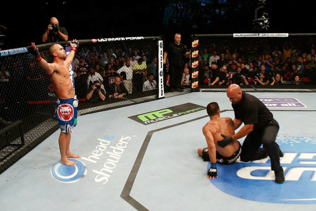 Is a 5th round against Robbie Lawler the most dangerous place in MMA?