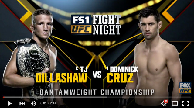 UFC Boston: watch the highlights of how Cruz beat Dillashaw to regain the belt