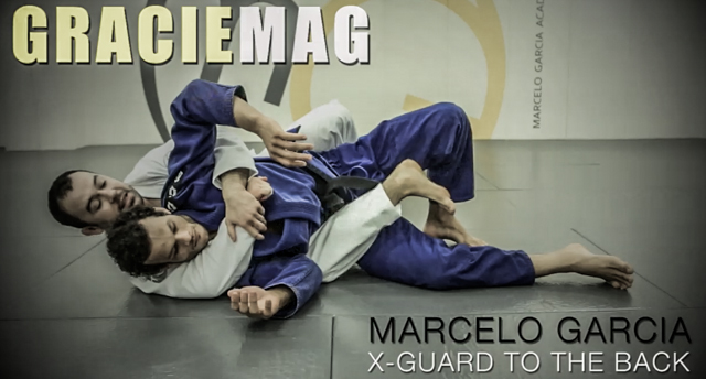 Exclusive: Go from the X-guard to the back with Marcelo Garcia