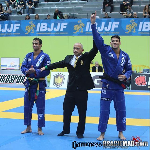 Felipe Preguiça faturou o ouro absoluto no Europeu. Foto: Ivan Trindade