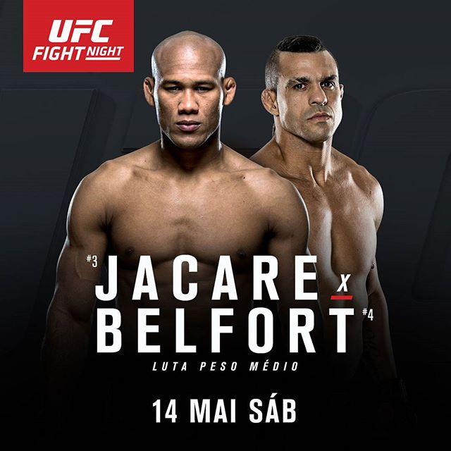 Duelo entre Jacaré e Belfort é oficial. Mas foi a melhor escolha? Foto: UFC