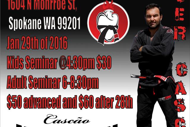 Catch a class with Walter Cascão in Spokane, WA