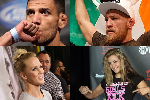 It's on! UFC 197 to feature RDA vs. McGregor; Holm vs. Tate, March 5, in Las Vegas