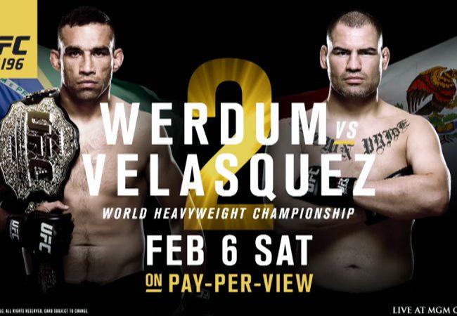 Vídeo: Confira grandes lances de Werdum e Velasquez e aqueça para o UFC 196