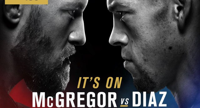 UFC announces Nate Diaz to face McGregor after RDA drops out with broken foot