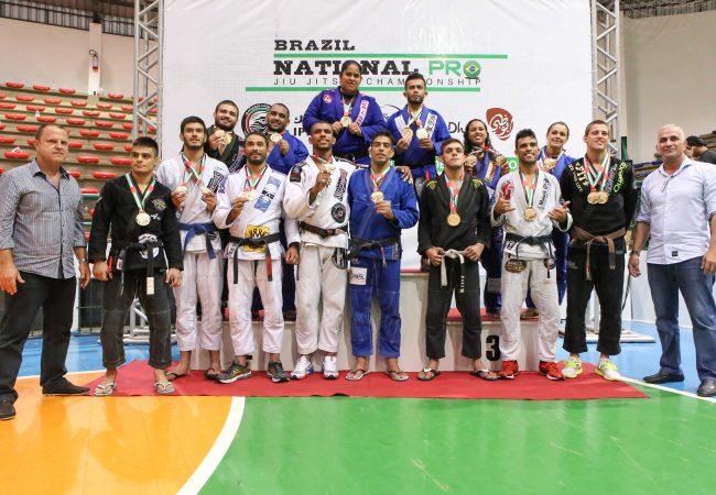 Lutas de alto nível marcam a etapa de Gramado do Brazil National Pro da UEAJJF