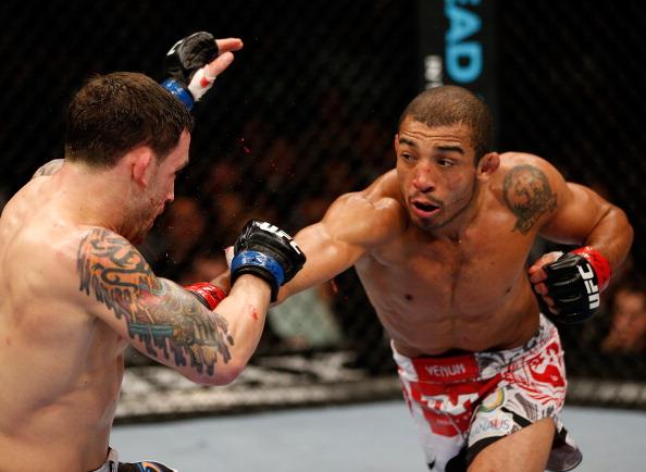 Aldo e Edgar ficam frente a frente mais uma vez no UFC. Foto: Josh Hedges, Zuffa LLC via Getty Images