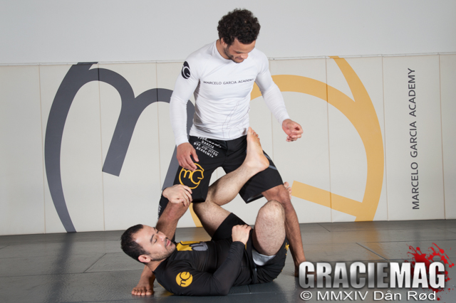 Marcelo Garcia is back to teach his trademark No-Gi X-Guard sweep