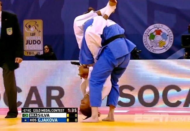 Vídeo: O armlock voador que valeu ouro para o Brasil no judô