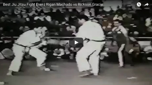 Watch Rigan Machado look back on the day he fought Rickson Gracie