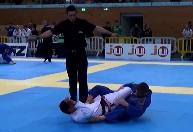 Vídeo: A chave de pé relâmpago que valeu ouro no Munich Open de Jiu-Jitsu