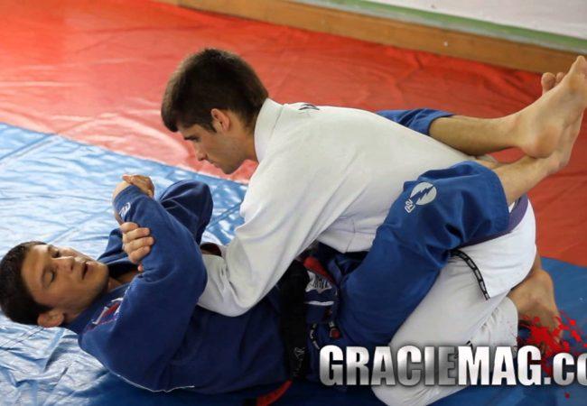 Vídeo: Raspe da guarda fechada com o detalhe do nosso GMI Claudio Calasans