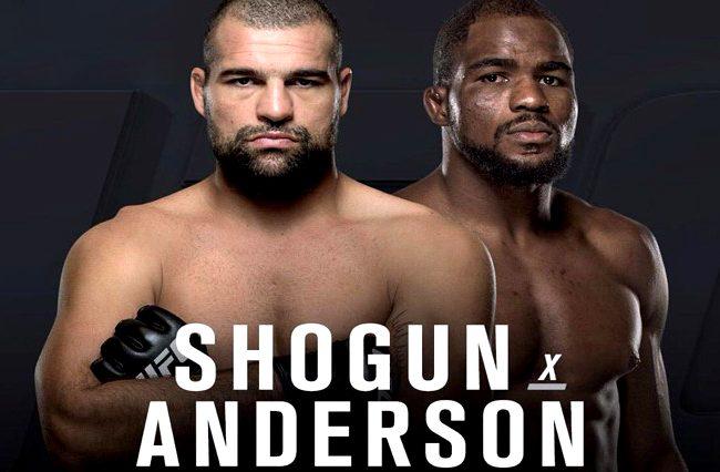 UFC Curitiba: Maurício Shogun é confirmado no card e encara Corey Anderson