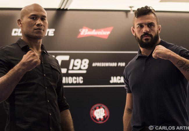 Vídeo: Belfort e Jacaré analisam possível duelo de Jiu-Jitsu no UFC 198
