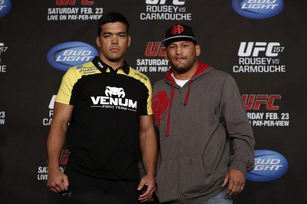 Lyoto e Dan fariam sua revanche neste sábado. Foto: Zuffa LLC via Getty Images