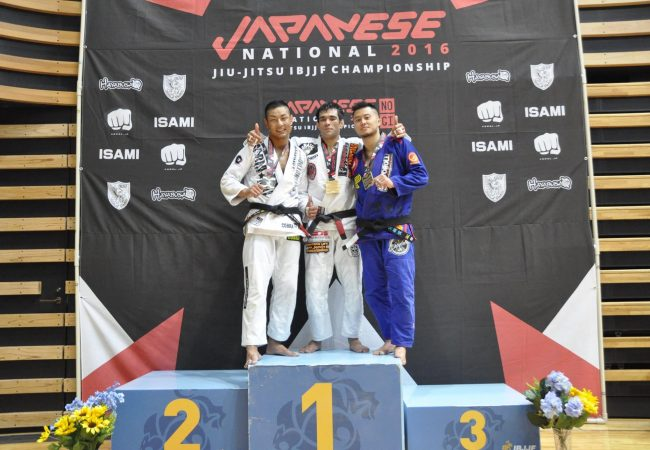Japanese Nationals: Anderson Takahasi wins black belt open class; other results
