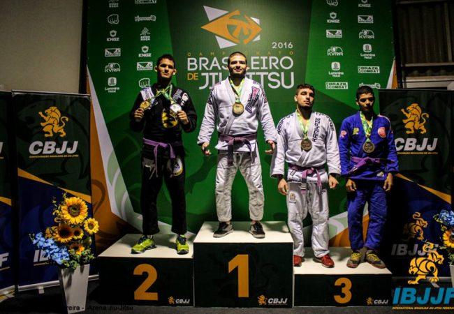 Brasileiro de Jiu-Jitsu: Faixas-roxas e feminino azul em ação; confira os resultados