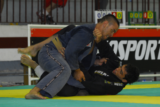 Leo Nogueira at the 2007 Brasileiro as a brown belt