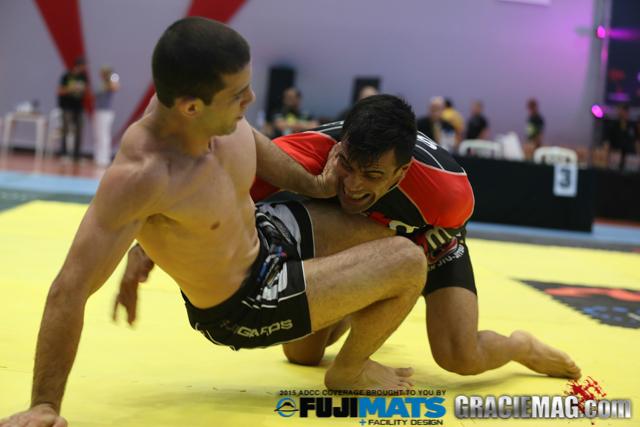 Cobrinha e Tanquinho fizeram grande duelo no ADCC 2015, em São Paulo. Foto: Ivan Trindade