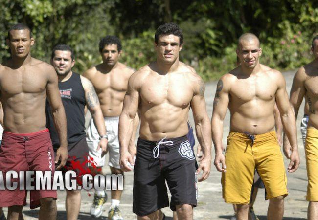 UFC 198: O dia em que Vitor Belfort e Ronaldo Jacaré decidiram treinar juntos