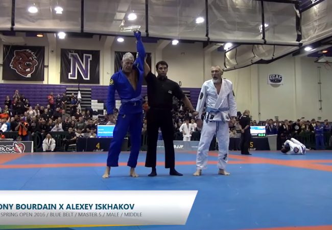Vídeo: Anthony Bourdain e o ouro no New York Open de Jiu-Jitsu