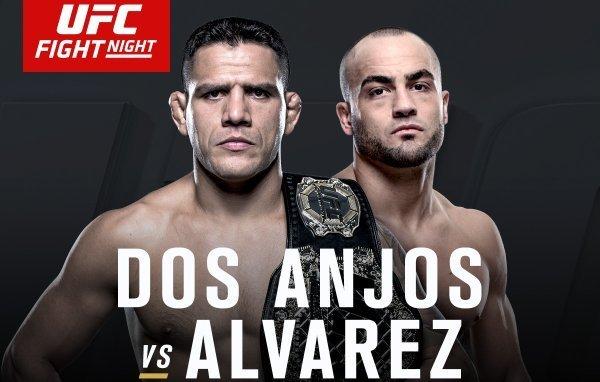 Rafael dos Anjos encara Eddie Alvarez em semana de títulos do UFC